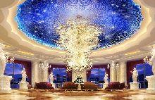 唐山国丰维景花园酒店-酒店大堂设计-天花装饰